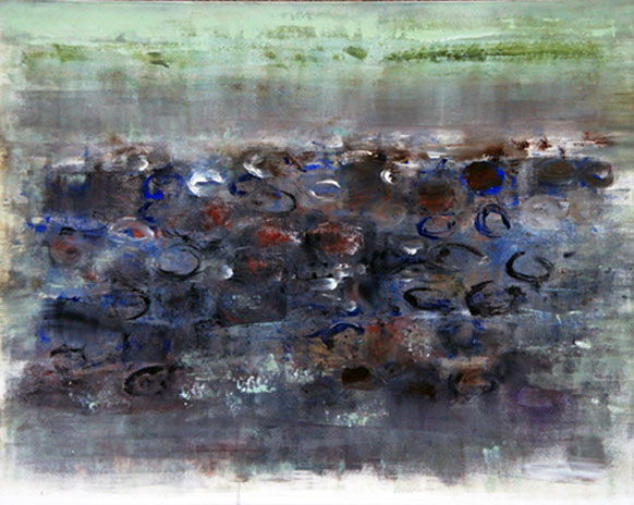 Low Tide 26, Oil on Canvas, Size: 30w x 24h inches