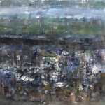 Low Tide 1, Oil on Canvas, Size:
