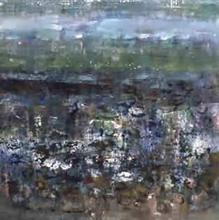 Low Tide 1, Oil on Canvas, Size:
