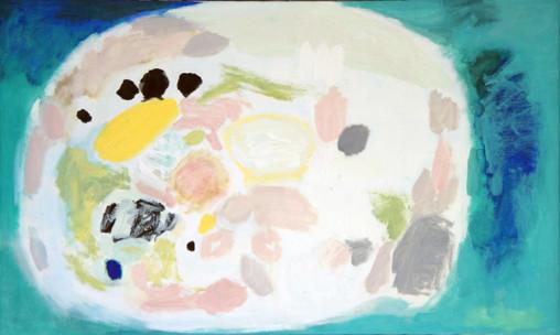 Rabbit Island, Oil on Canvas, Size: